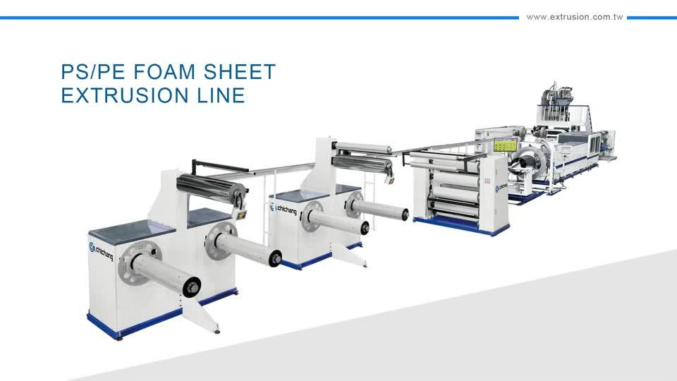 PS/PE Foam Sheet Extrusion Line(New Generation EPS Machine)