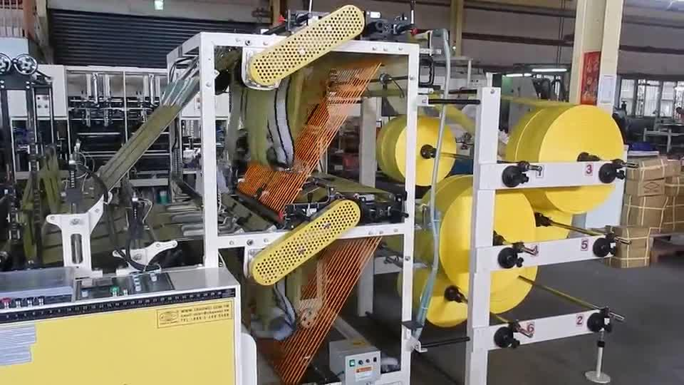 Fully Automatic T-Shirt Bag Making Machines with Auto Packing Device